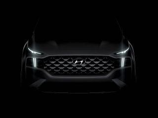 2021 Hyundai Santa Fe facelift