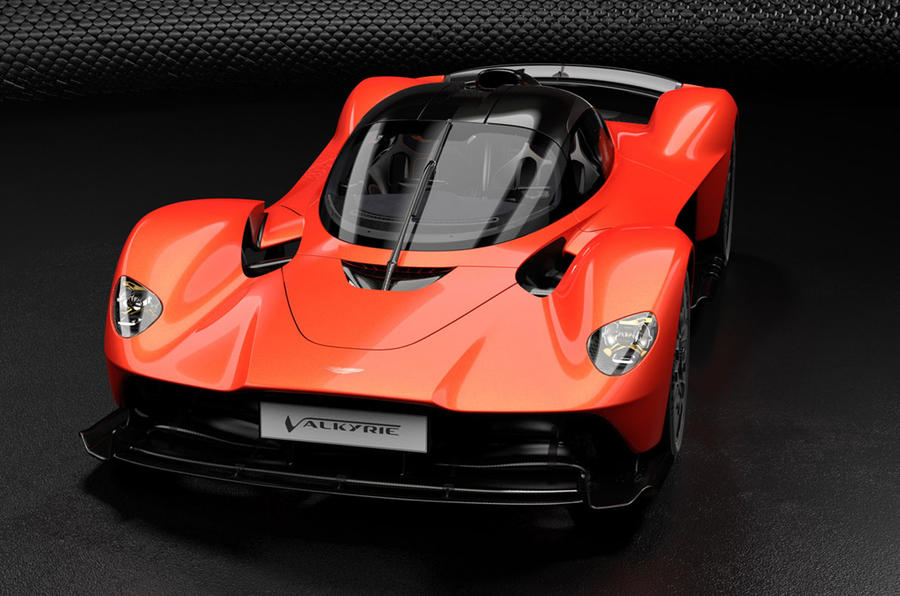 2 aston martin valkyrie static front