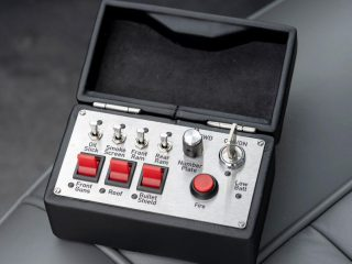 87 aston martin db5 goldfinger continuation 1st built controls
