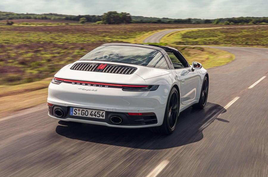 2020 Porsche 911 Targa First Drive Review Automotive Daily