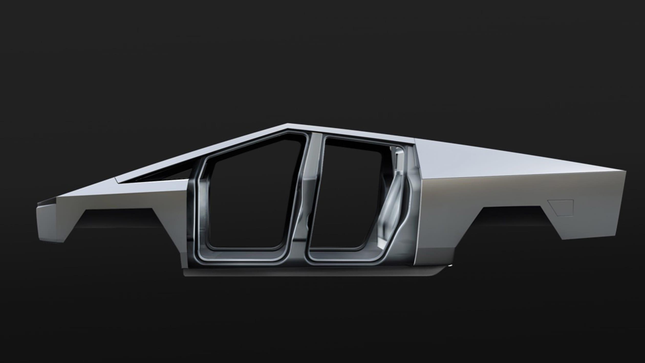 Review Tesla's Cybertruck pick-up