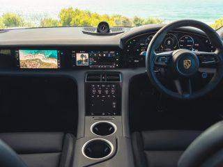 Porsche Taycan interior australia