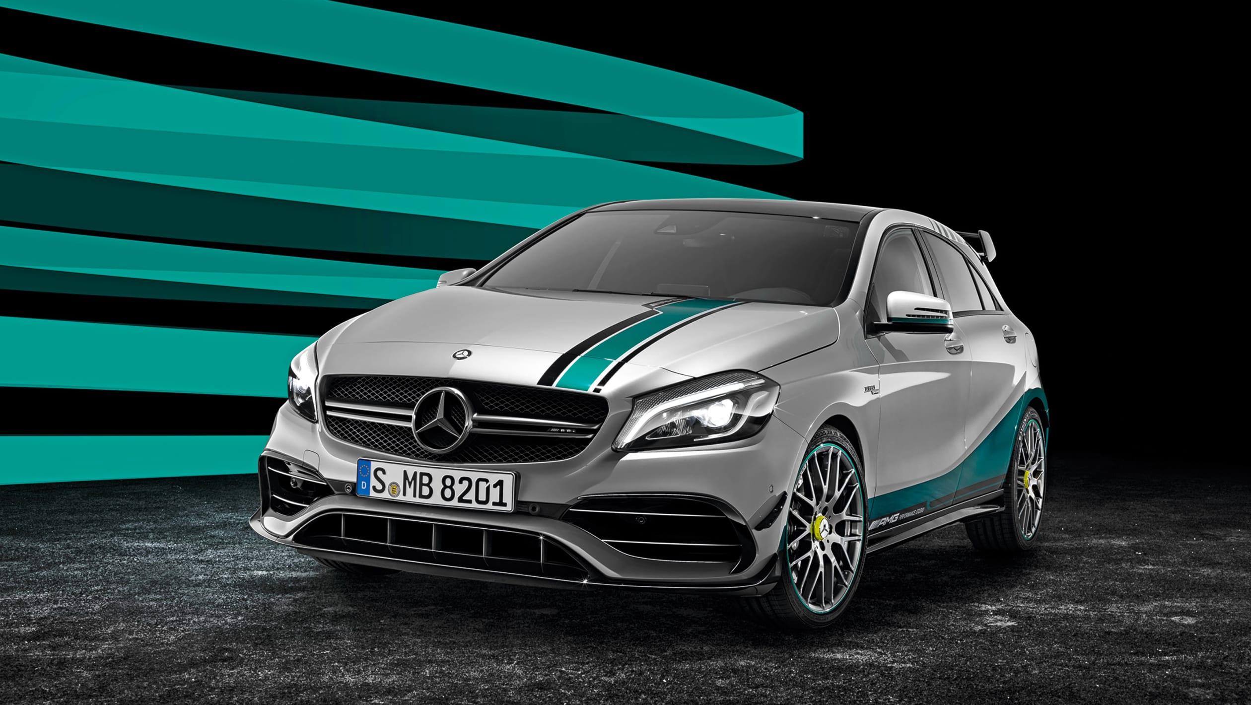 Mercedes A 45 AMG Petronas 2015 WC Edition F1 Road cars
