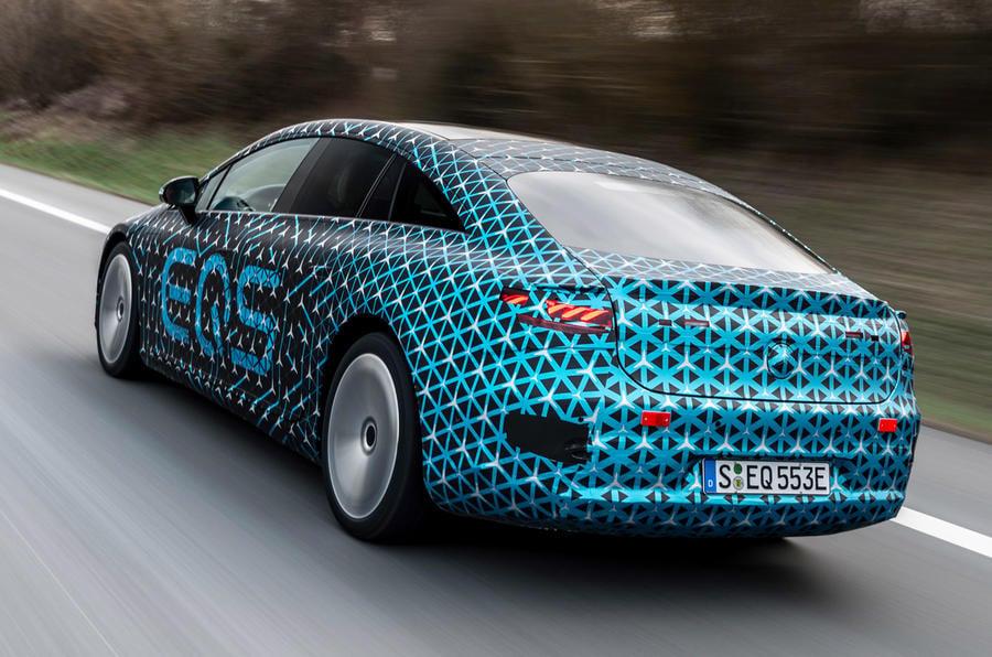 97 mercedes benz eqs prototype ride 2021 hero rear