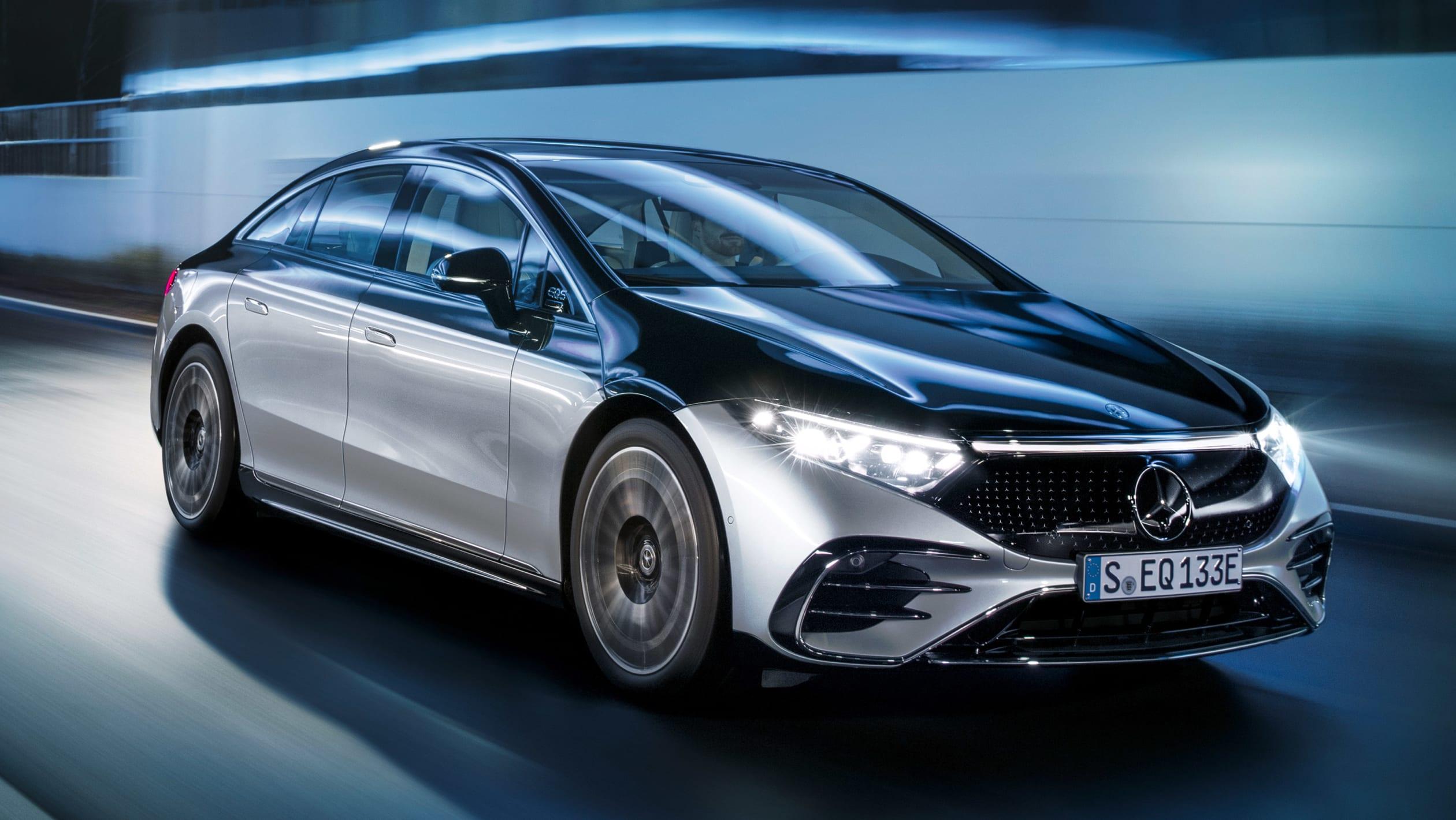 Mercedes EQS 2021 8