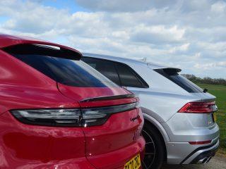 Audi SQ8 vs Porsche Cayenne Coupe GTS 5