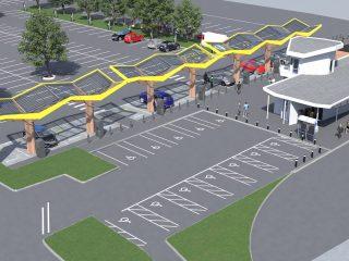 Oxford Redbridge EV charging hub 3