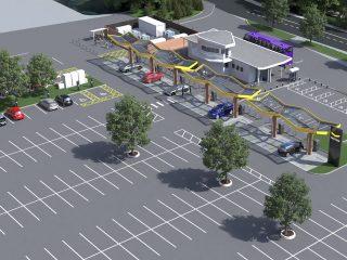 Oxford Redbridge EV charging hub