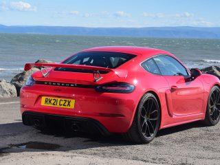Porsche Cayman GT4 PDK review 19