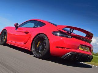 Porsche Cayman GT4 PDK review