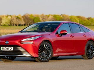 Toyota Mirai 2021 UK 18