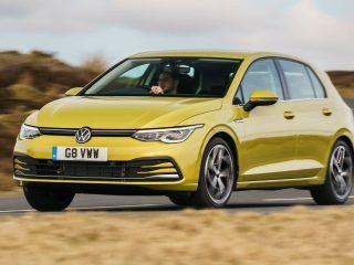 VW Golf eTSI drive 2021 11
