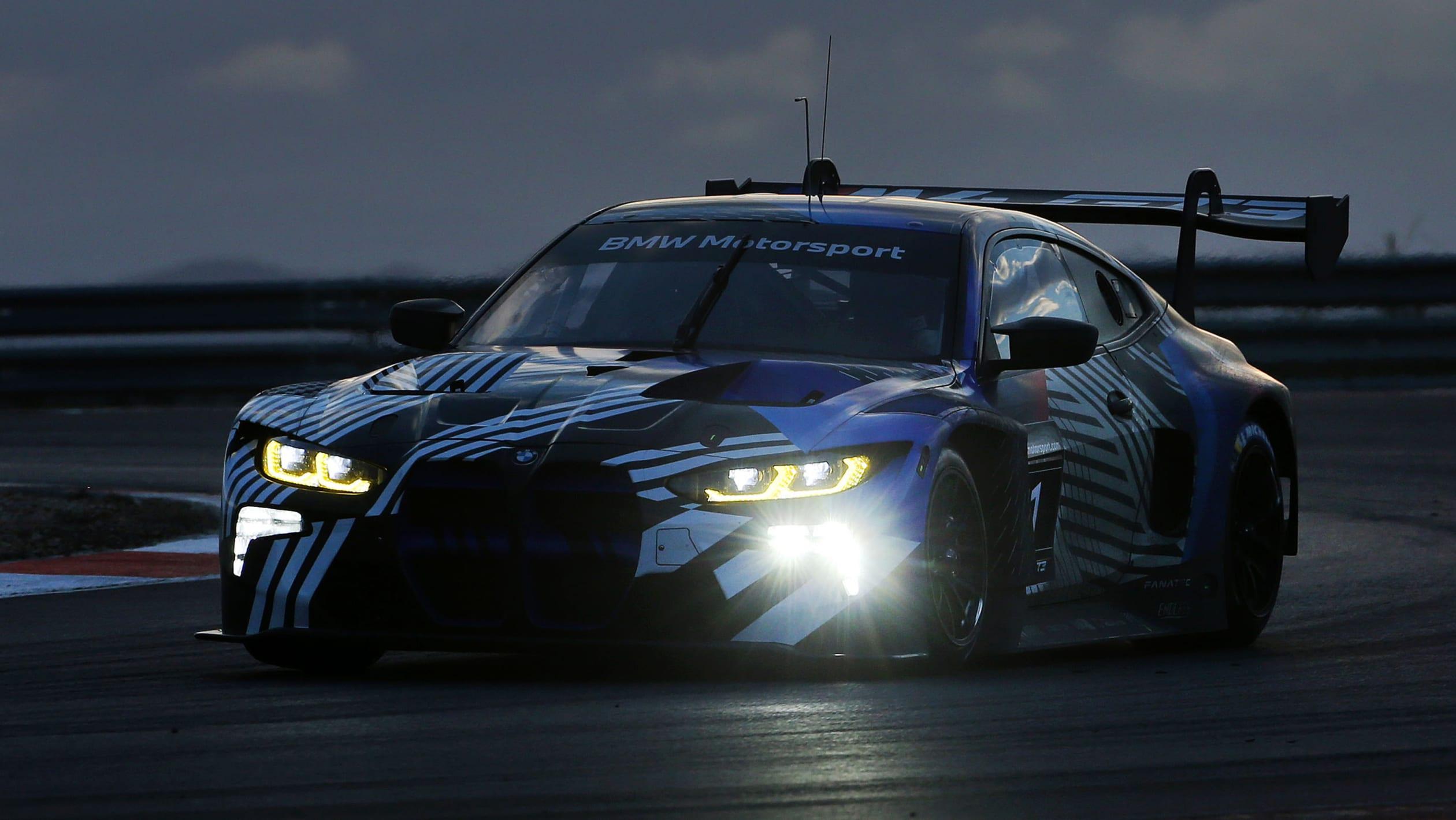 BMW M4 GT3 testing 6