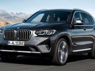 BMW X3 facelift 12