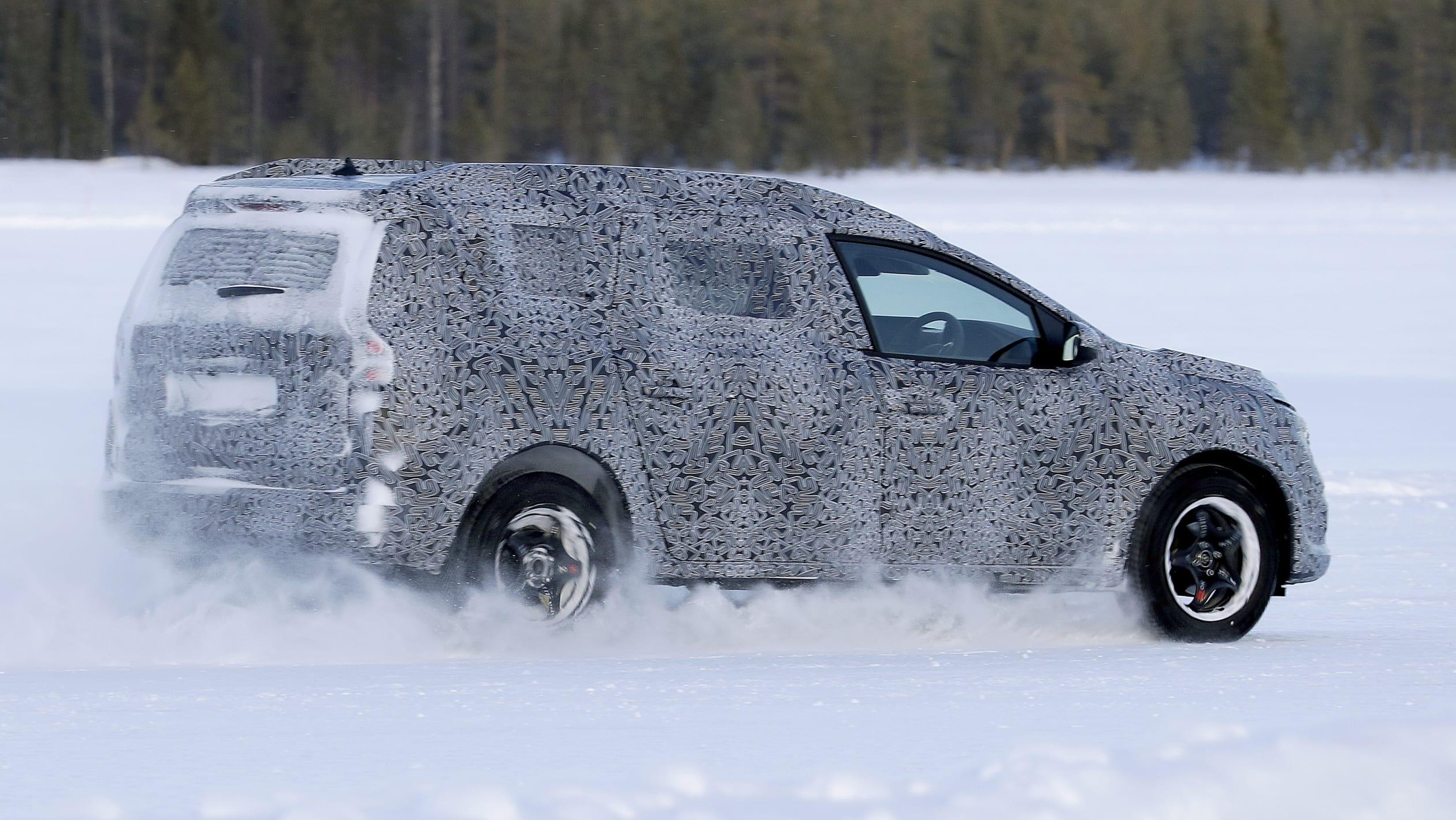 Dacia Logan MCV spy 3