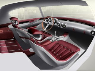 GTO Engineering Squalo Oxblood leather