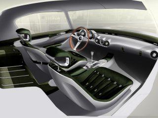 GTO Engineering Squalo Racing Green leather