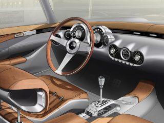 GTO Engineering Squalo interior sketch