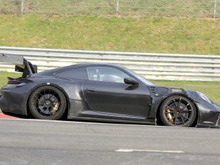 Porsche 911 GT3 RS 992 spy 6