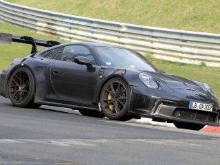 Porsche 911 GT3 RS 992 spy 8