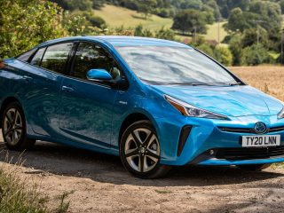 Toyota Prius hybrid review images 2021 AEX 5