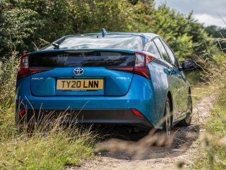 Toyota Prius hybrid review images 2021 AEX 6