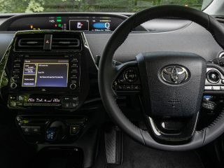 Toyota Prius hybrid review images 2021 AEX 7