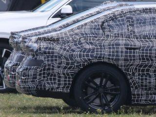 2022 BMW 5 i5 spy pics 1