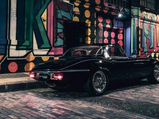 Jaguar E Type restomod Unleashed 10