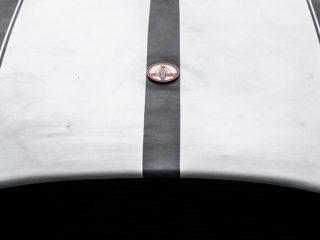 96 ava electric cobra prototype feature nose badge