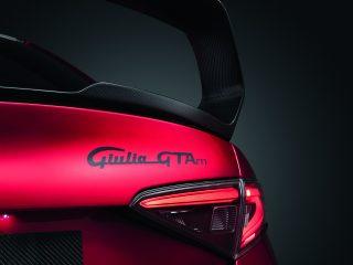 Alfa Romeo Giulia GTA wing