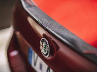 Alfa Romeo Giulia spoiler