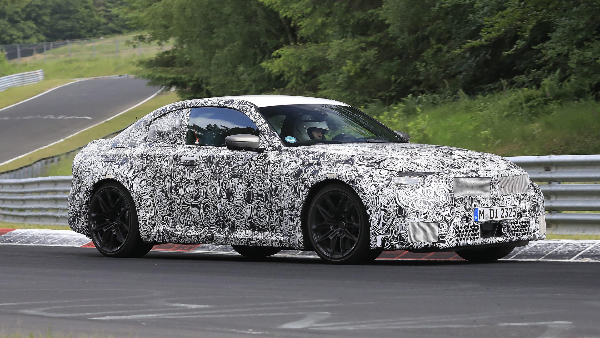 BMW M2 spy shots 2