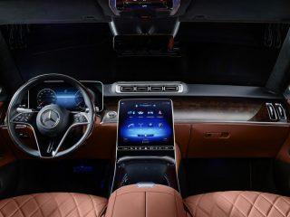 Mercedes Benz S Class Guard bulletproof 2021 5