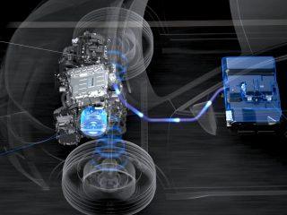Nissan E Power hybrid 1