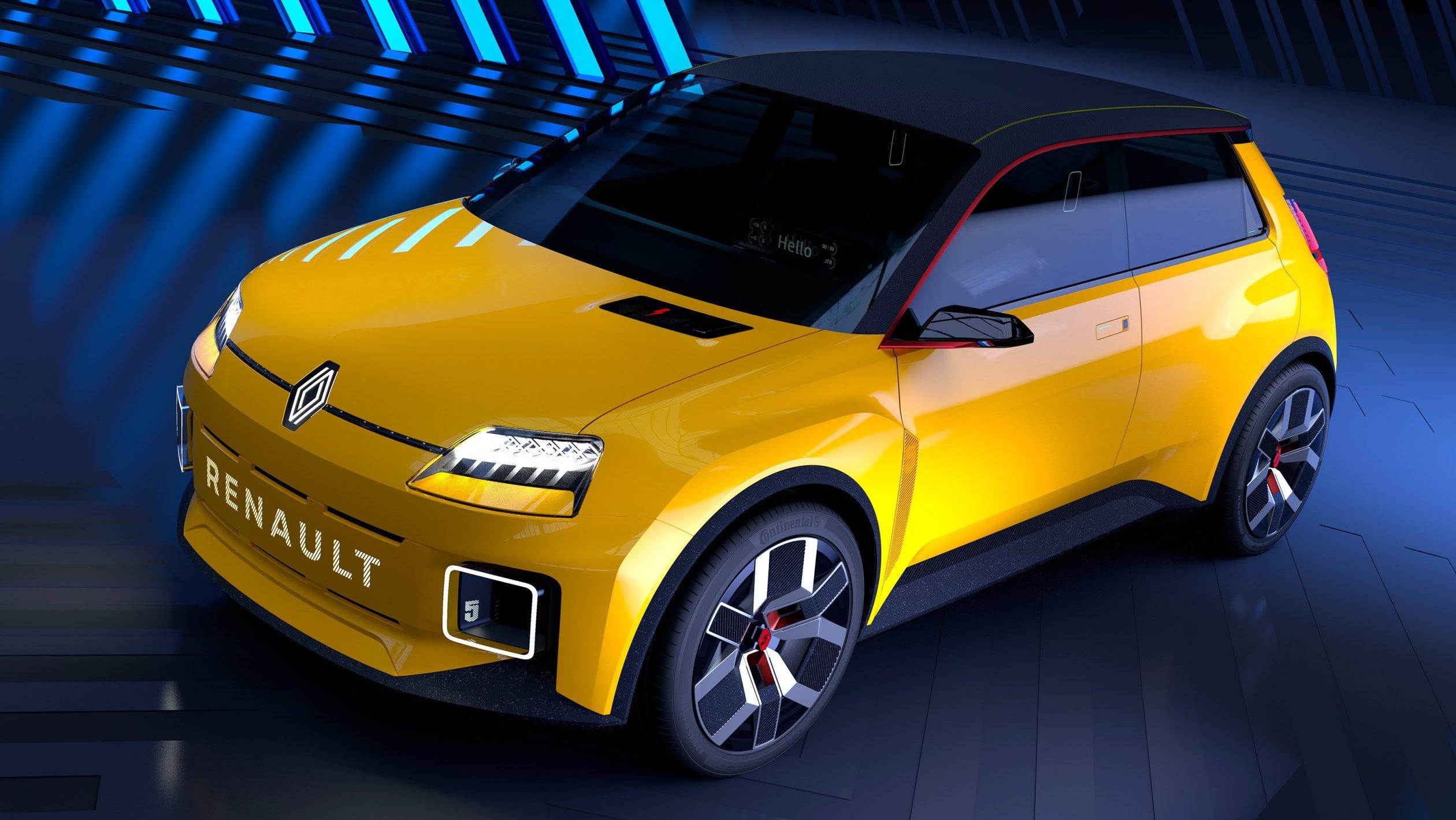 Renault 5 EV concept 2021