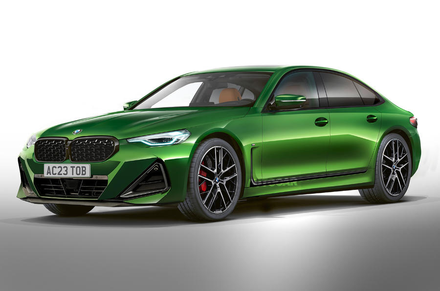 bmw 5 series 2023 render as imagined by autocar