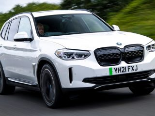 BMW iX3 2021 UK 5