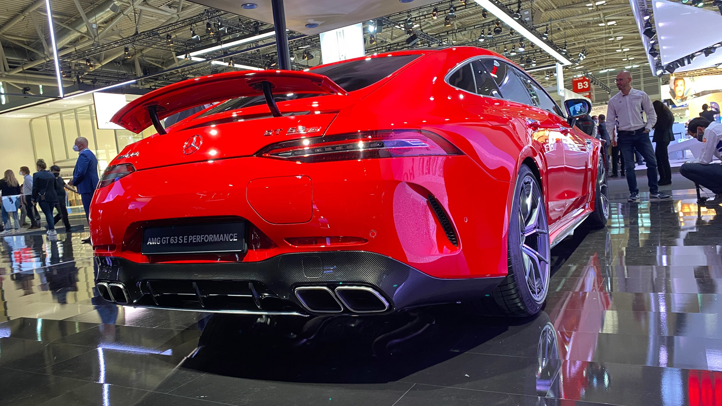 Mercedes AMG GT63 S E Performance debuts at Munich 1