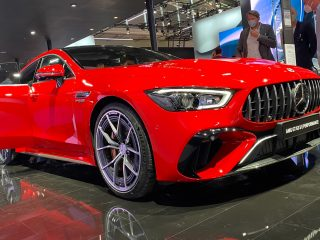 Mercedes AMG GT63 S E Performance debuts at Munich 2