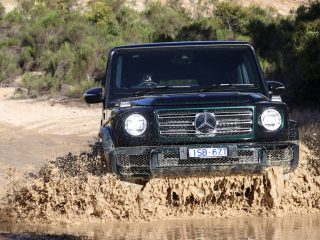 Mercedes G wagen 400 d 9