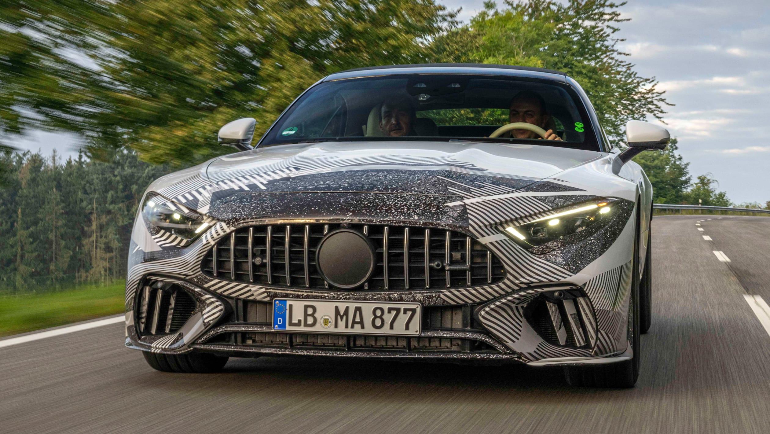 Mercedes SL prototype 7