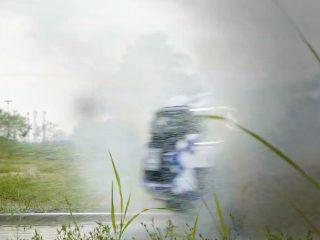 2022 Ford Ranger test car camo 2
