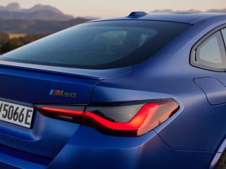8 bmw i4 m50 2021 first drive review rear end