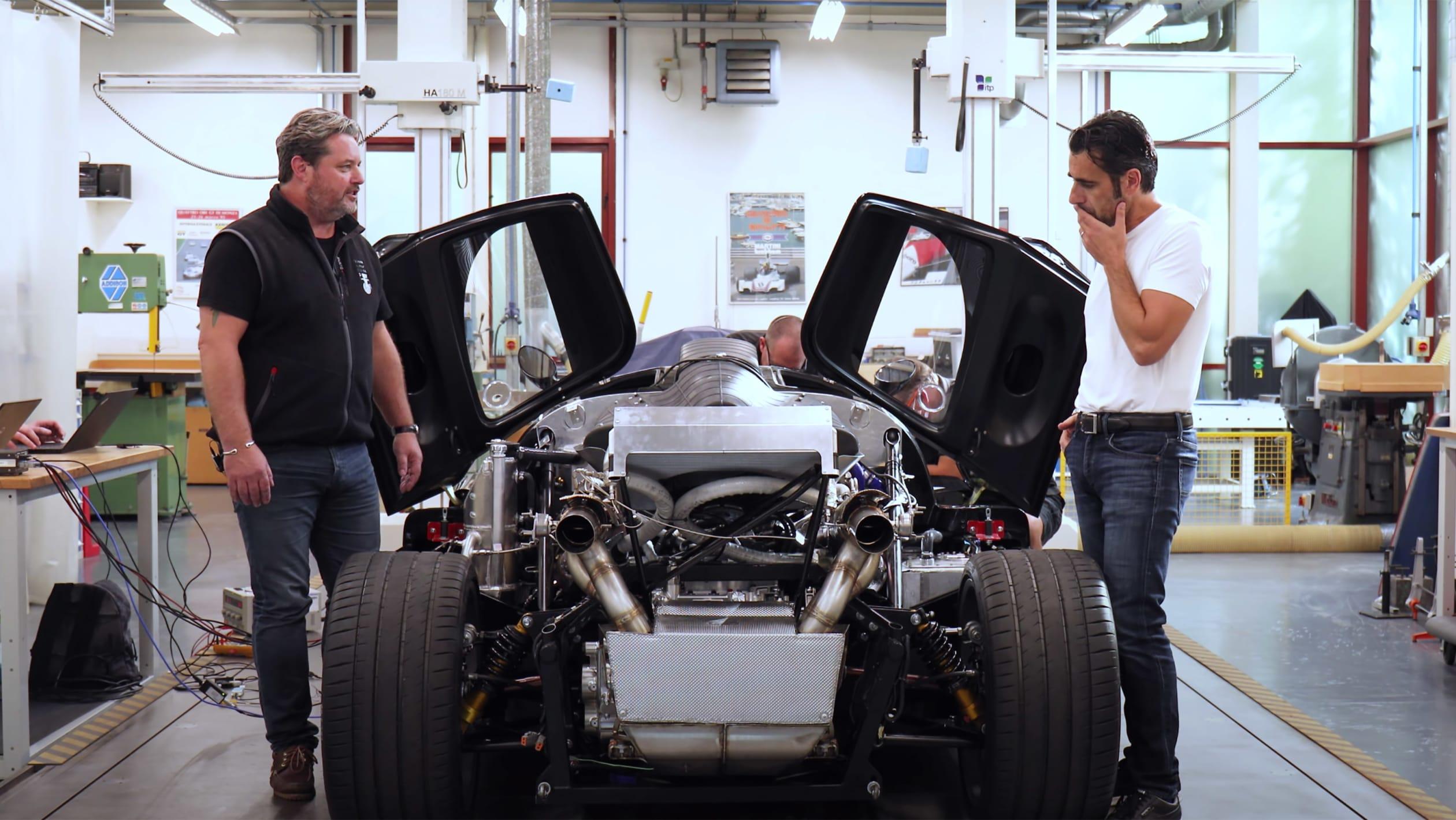 Gordon Murray Automotive T50 mule 3