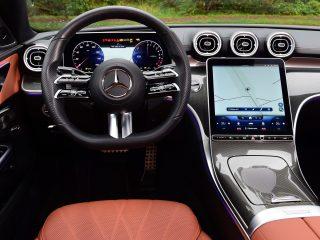 Mercedes C300e 2021 driver seat